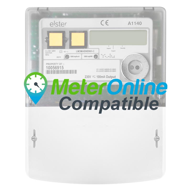 Elster a1140 single & three phase smart electric meter